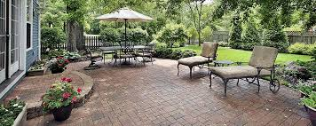 Backyard Paver Patio Ideas Brick Patio Ideas And Styles Trusted Home Contractors