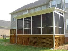 Shed Roof Porch Charlotte Nc Designers Choice Com Screen Porches Screen Porch