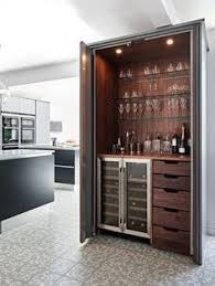 Built In Bar Cabinets An Elegant Contemporary Home In Earthy Tones In Belgium Built In
