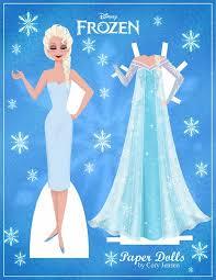 disney u0027s frozen paper dolls skgaleana link print