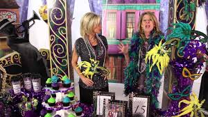 mardi gras party decorations masks beads shindigz youtube