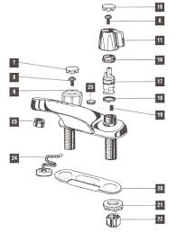 delta kitchen faucet repair parts amazing bathroom repair parts for one and two handle delta