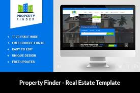real estate website template html css themes creative market