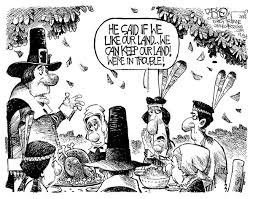 thanksgiving and taking darkow for the columbia daily tribune