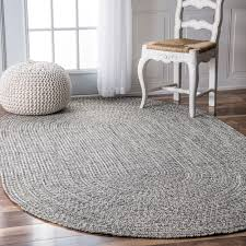 Outdoor Rug 6 X 9 Nuloom Handmade Casual Solid Braided Oval Indoor Outdoor Rug 7 6