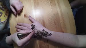 tatuaż z henny youtube