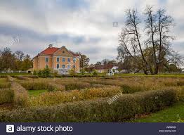 Villa Park Landscape by Palmse Manor Estonia Fall Time Luxury Villa Park And