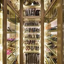 Closet Door Shoe Storage Black Bi Fold Closet Doors With Gold Door Knobs Contemporary