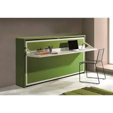 commode bureau escamotable armoire lit transversale city avec bureau intég achat vente lit