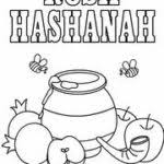 Festivals Trend All Indian Festivals Rosh Hashanah Colouring Pages