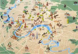 San Francisco Sightseeing Map by London Tourist Attractions Map Entrancing Attraction Of London