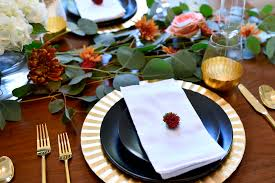 thanksgiving party favor ideas a modern thanksgiving tablescape fashion jackson