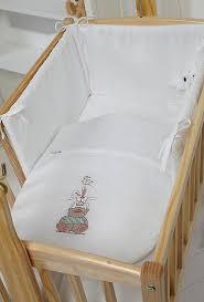 Swing Crib Bedding Clair De Lune Tippy Tumble 4 Rocking Crib Quilt Bumper