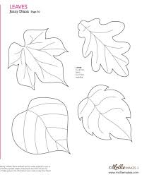 leaf templates free printables coloring beach screensavers com