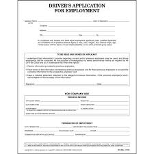 driver u0027s application for employment ada compliant