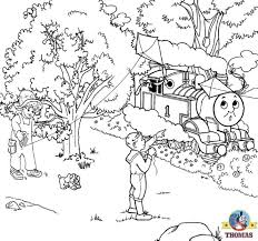thomas coloring book pages kids printable picture worksheets