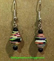 duct earrings diy duct earrings duct duct crafts and
