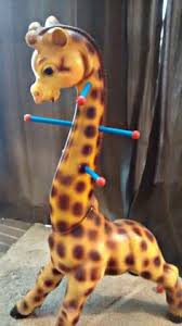 vintage giraffe ring holder images Giraffe cookie jar by sakura animal cookie jars pinterest jpg