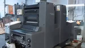 heidelberg sm 52 2 year 1995 youtube