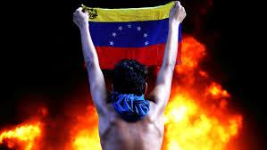 Venezual Flag Protesters Attack Venezuela U0027s Supreme Court Office