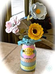 Challenge Vase Paper Handmade Paper Flowers In A Recycled Vase Spotted