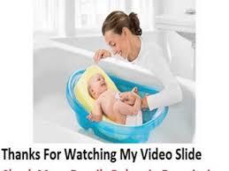 Summer Infant To Toddler Bathtub Comfy Bath Sponge Summer Infant Youtube