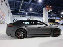 porsche panamera matte red misha designs u2013 panamera body kit to be unveiled at sema show