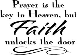 religious wall quotes vinyl wall decals prayer is the key