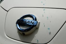 nissan canada touch up paint nissan leaf the world u0027s cleanest self washing car