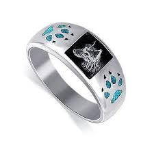wolf wedding rings 9 best wolf wedding rings images on rings s