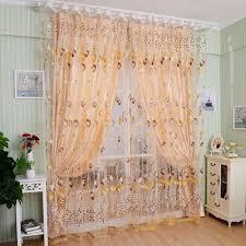 voilage fenetre chambre 2pcs rideau voilages voile tulle fenêtre chambre à coucher salon
