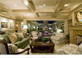Traditional Livingroom by 15 Beautiful Traditional Coffered Ceiling Living Rooms Home