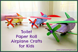 Paper Roll Crafts For Kids - toilet paper roll airplane crafts for kids 11 jpg