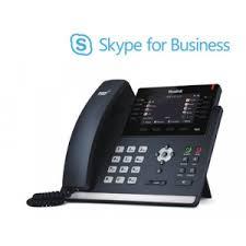 skype pour bureau téléphone de bureau yealink t46s skype pour les entreprises sip