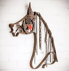 western metal art wall hangings