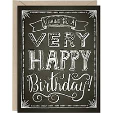 chalkboard birthday card birthday greeting cards paper source