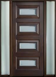 Exterior Solid Wood Doors by Modern Exterior Doors Contemporary Series Solid Wood Doors