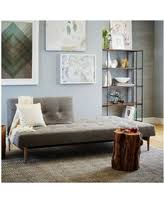 Check Out These Summer Savings West Elm Henry Deluxe Sleeper - Futon living room set