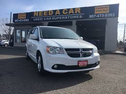 2016 dodge grand caravan crew plus leather loaded only 28k