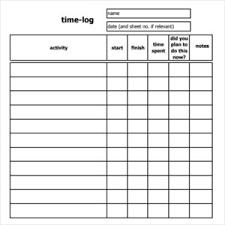 time log template corol lyfeline co