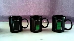 Color Changing Mugs Color Changing Mug Magic Cup Battery Charging Mug Youtube