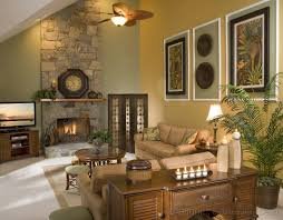Living Room Colors With Brown Furniture Decorating A Small Split Level Home With Vaulted Ceiling How To