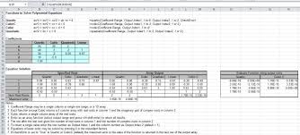Numbers Spreadsheets Complex Numbers And Solving Quartic Polynomial Equations Newton