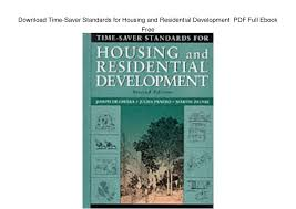 Time Saver Standards For Interior Design Download Time Saver Standards For Housing And Residential Development U2026