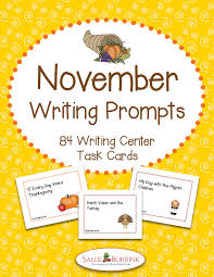 november writing prompts football turkey and thanksgiving