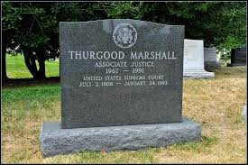 thurgood marshall grave file thurgood marshall first african