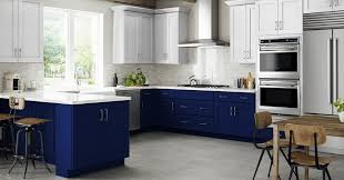 navy blue kitchen cabinet design navy is the new black all the perks of navy cabinets