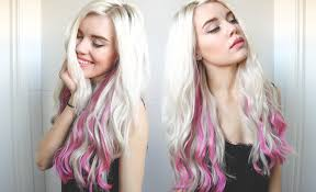 vpfashion hair extensions review and pink hair tutorial vp fashion extensions review