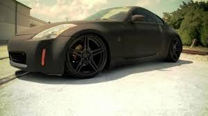 nissan 370z matte black matte black nissan 350z on 20