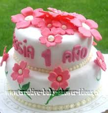 easy flower cake designs and photos